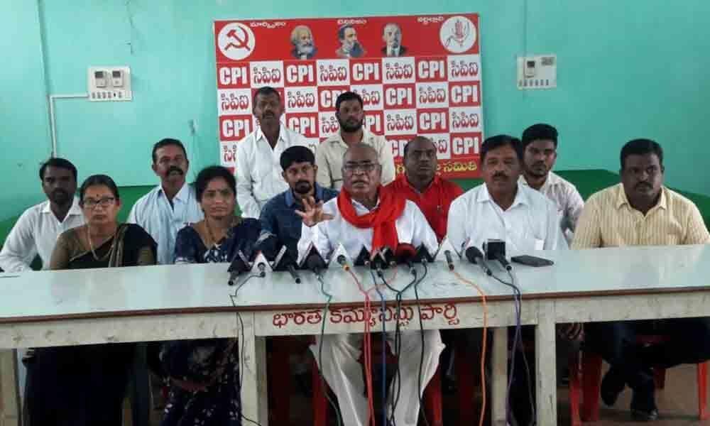 BJP, TRS misusing their power: CPI