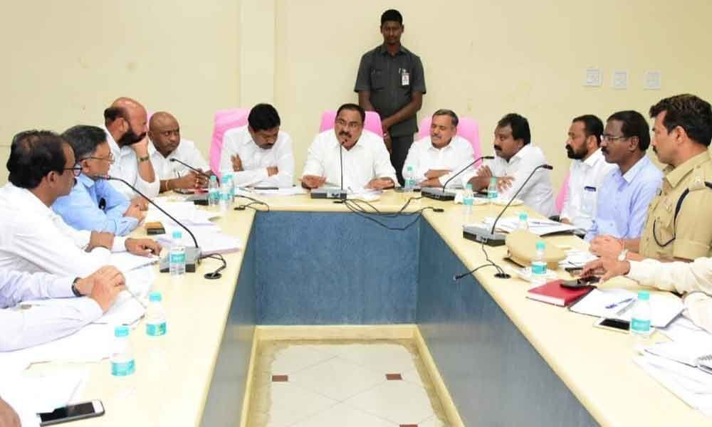 Release water to Warangal district: Errabelli to officials