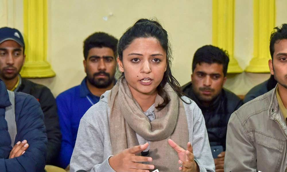 FIR sought against JNU Shehla Rashid for spreading fake news