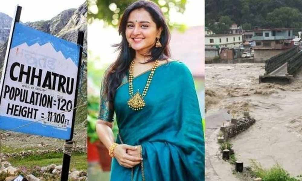 Actress Manju Warrier among Kerala film crew trapped in Himachal
