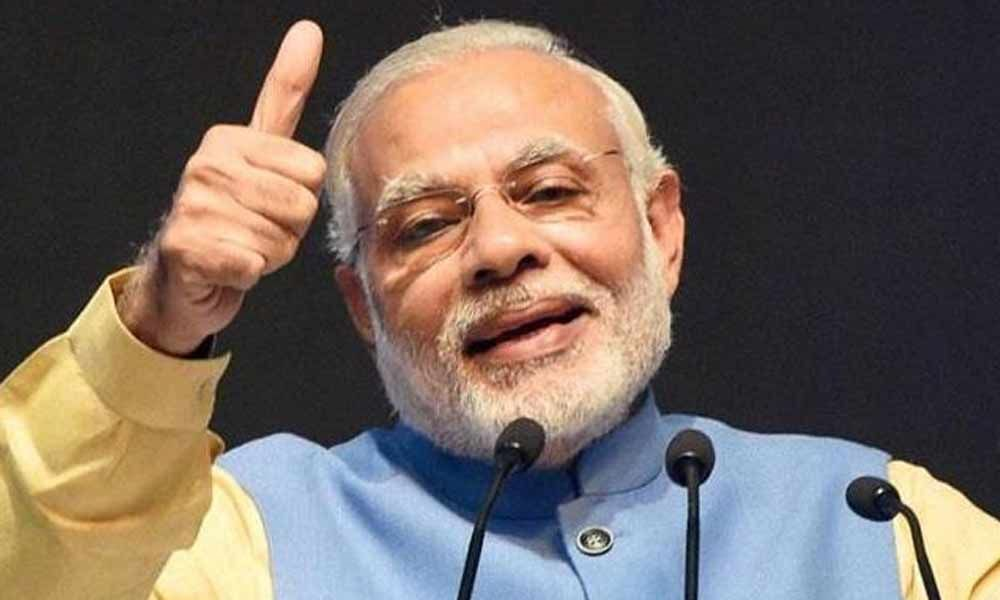Narendra Modi hails ISRO for Chandrayaan-2