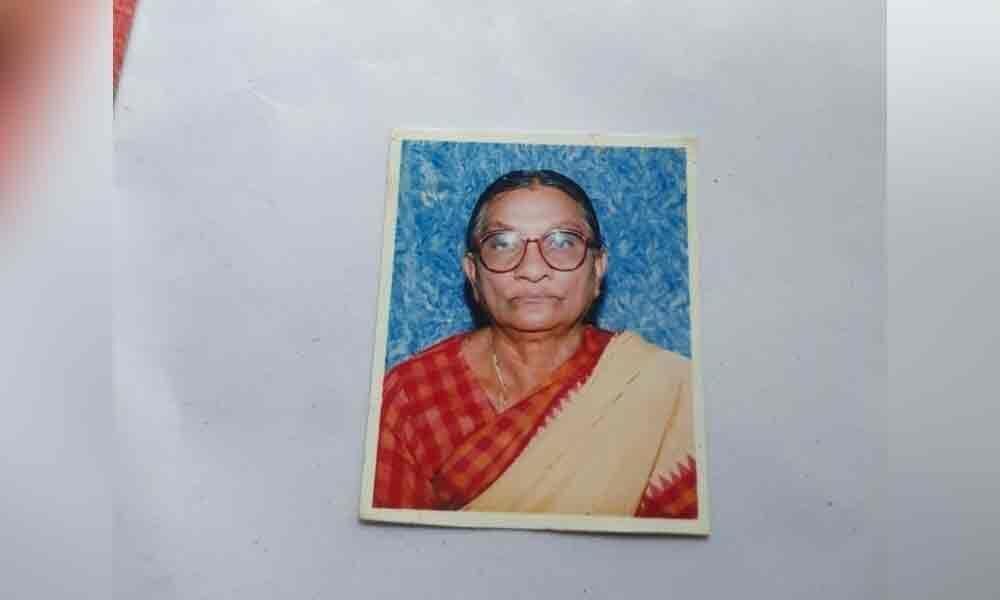 Elderly woman burnt alive in Chittoor