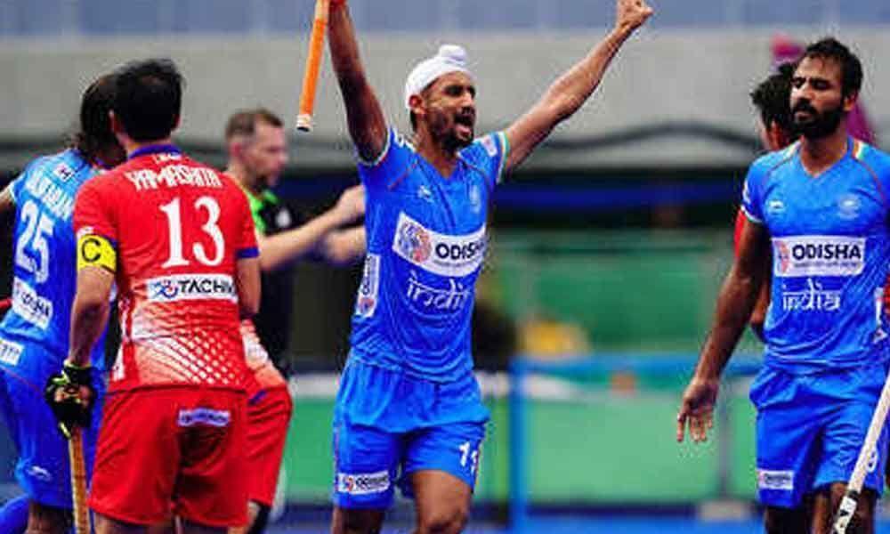 Mandeep hat-trick helps India beat Japan 6-3, reach final