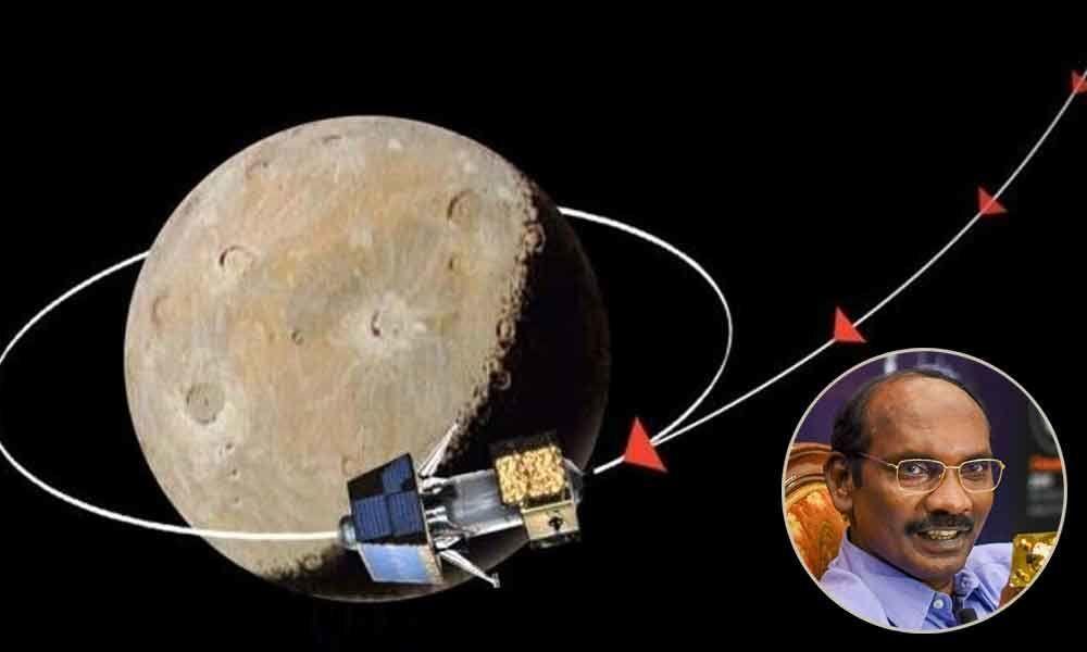 Chandrayaan-2 enters Moon orbit