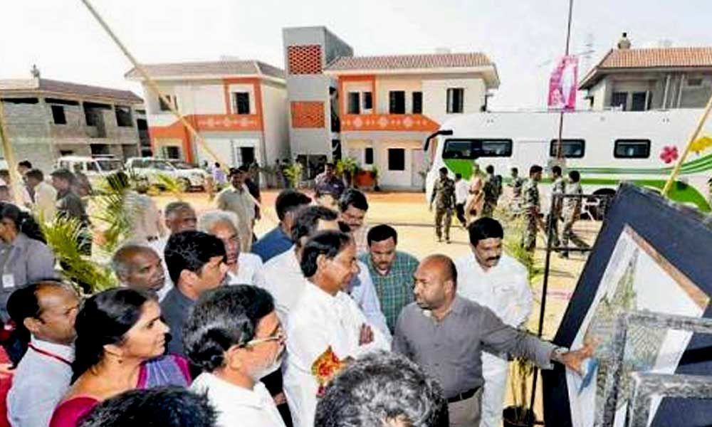 KCR to tour in Gajwel today