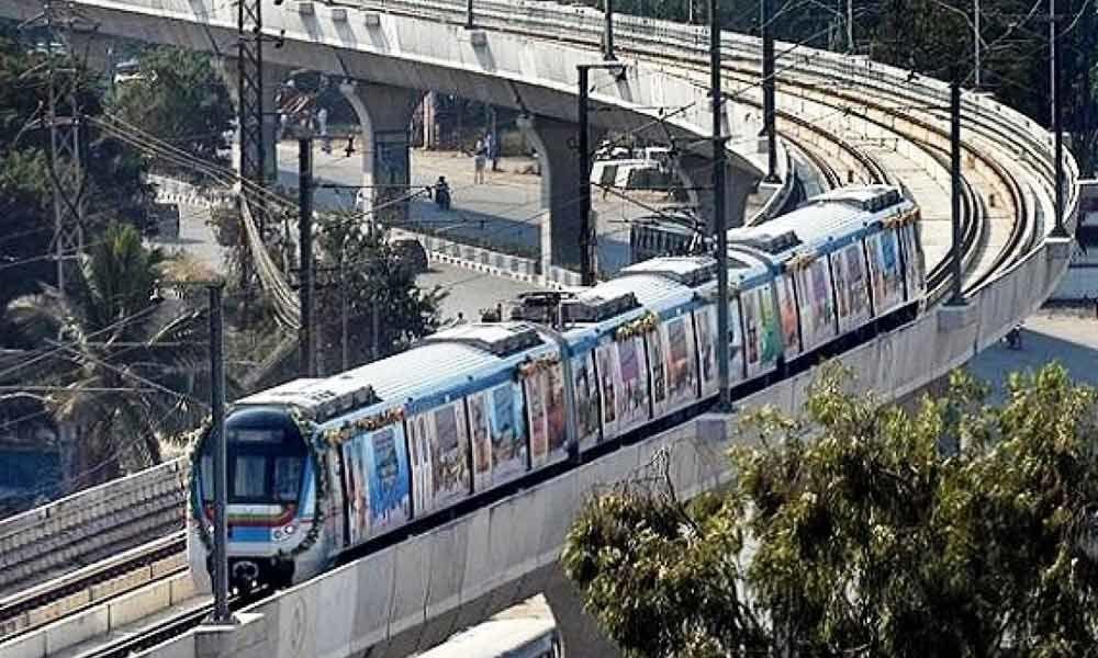 Hyderabad Metro frequency increased on Ameerpet-Hitec City line during peak hours