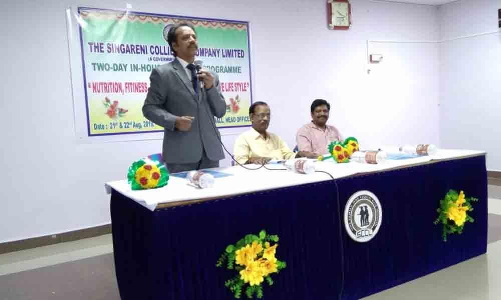 Health awareness classes for SCCL staff held in Kothagudem