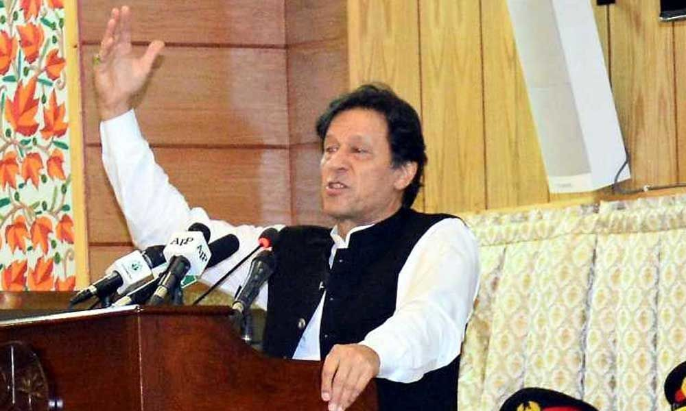 Pakistan PM Imran Khan asks party men to hold demonstrations in New York during PM Modi