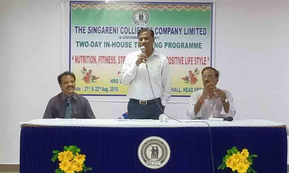 Health awareness classes for SCCL staff conclude in Kothagudem