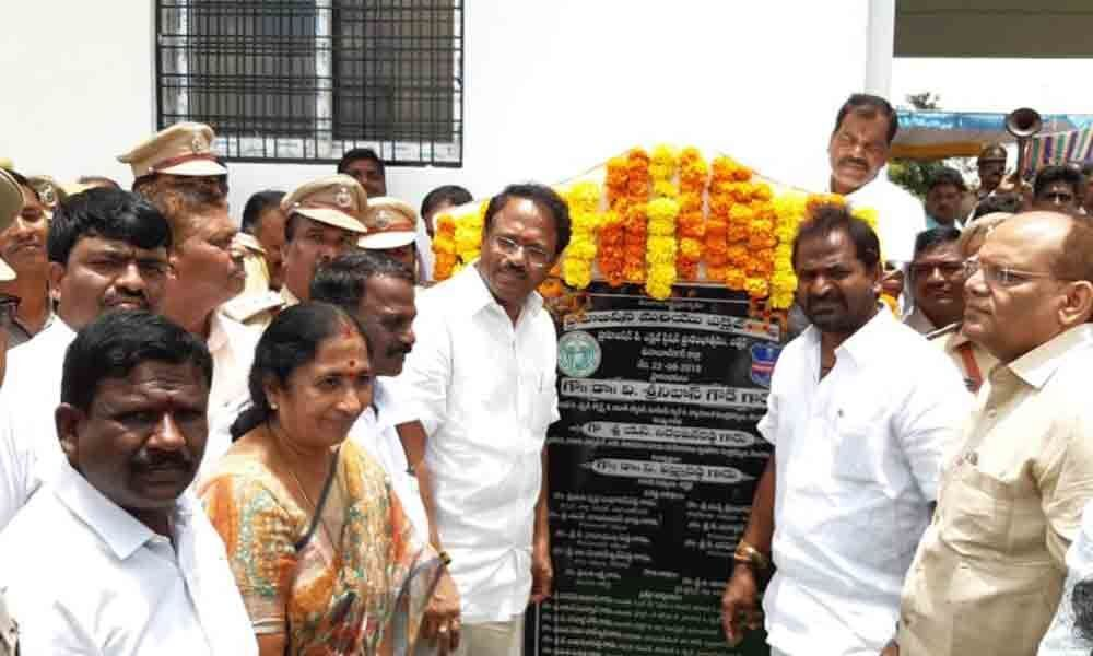 New Excise and Prohibition building inaugurated in Mahbubnagar