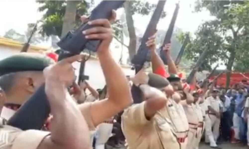All 22 rifles fail to fire at ex-Bihar CM