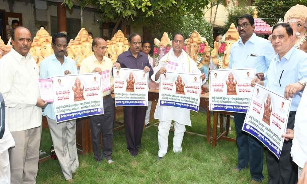 Telangana State Pollution Control Board to distribute clay Ganesh idols