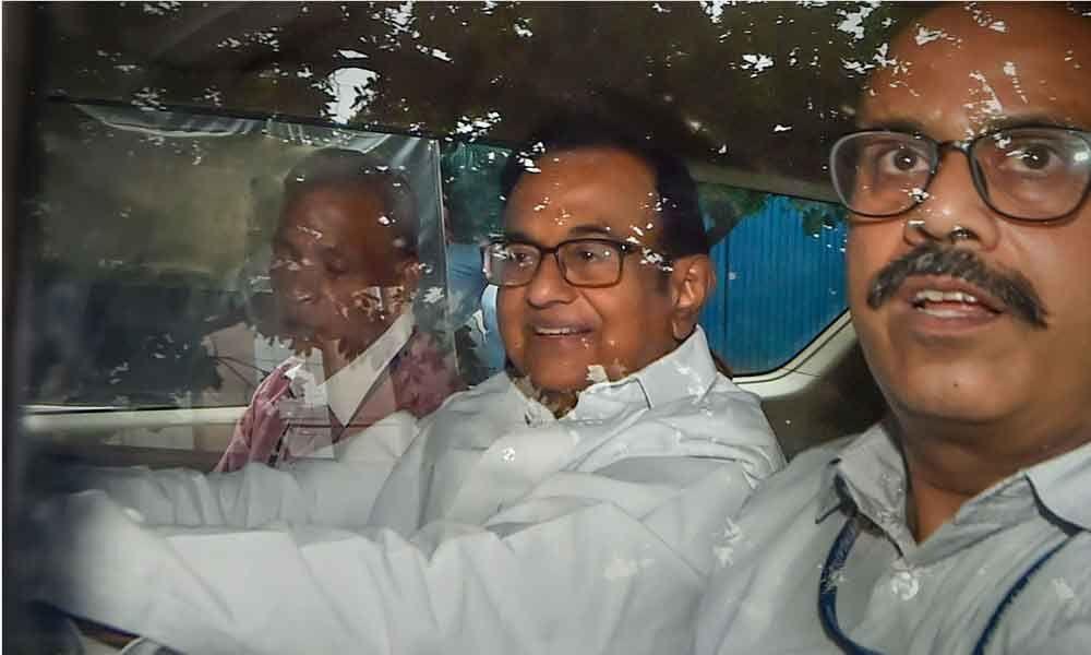 CBI gets 4-day custody of Chidambaram