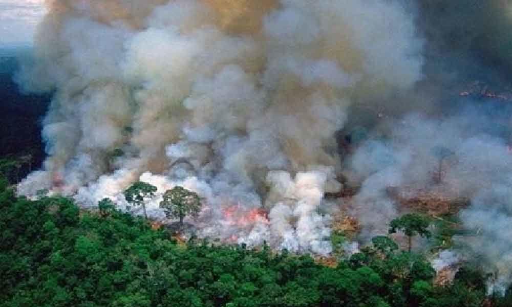 International crisis: French President on Amazon wildfires