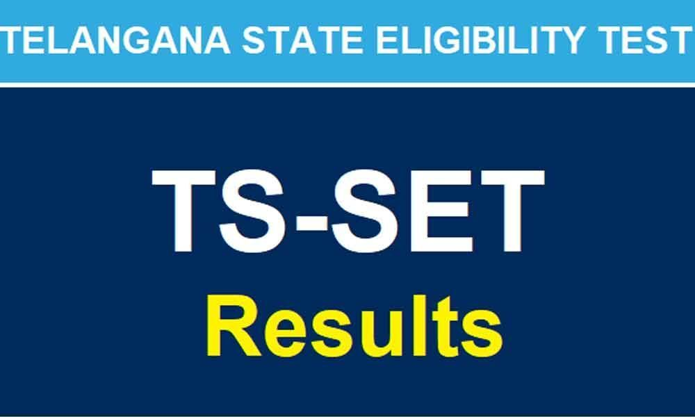 TS SET 2019 results to release today at telanganaset.org