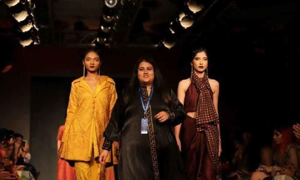 Hyderabad Designer Presents Her Collection At Lfw