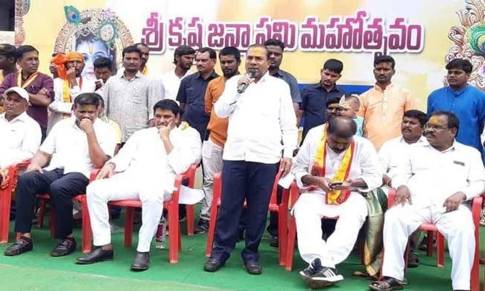 Krishnashtami held with pomp, gaiety