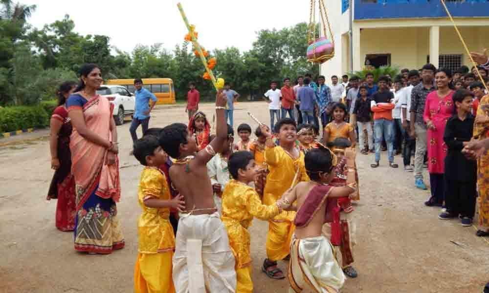 Bathukamma sarees reaches district