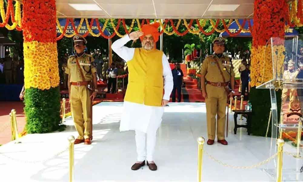 Nations internal security is key to achieve goals: Home Minister Amit Shah