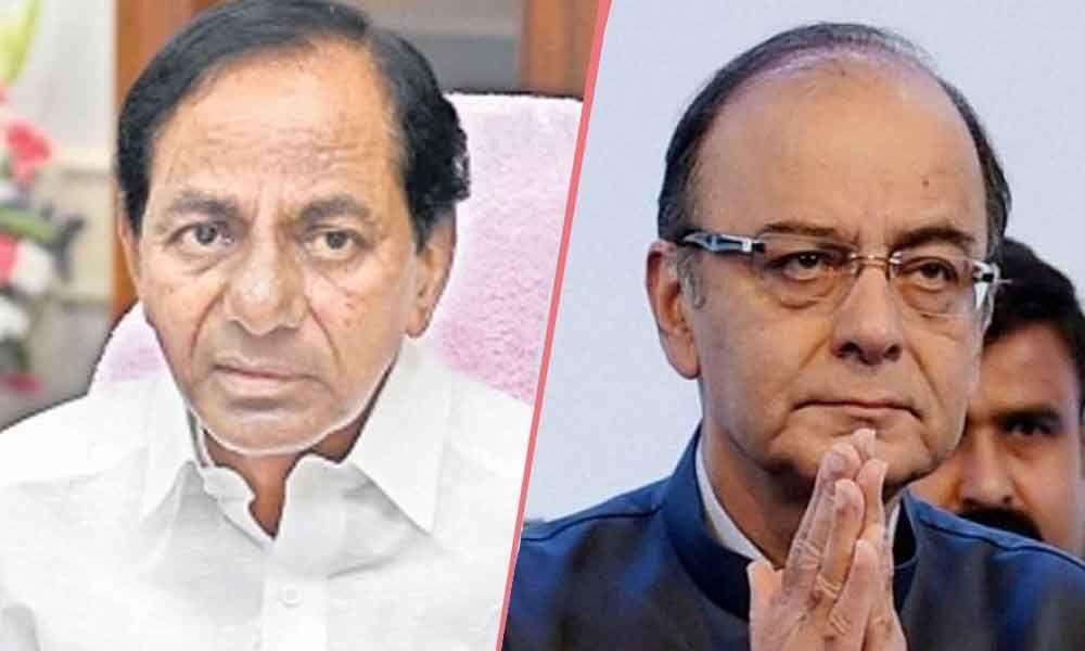 TS CM Chandrasekhar Rao condoles Jaitleys demise