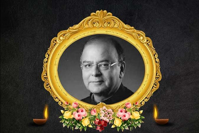 Pay your tributes to Arun Jaitley