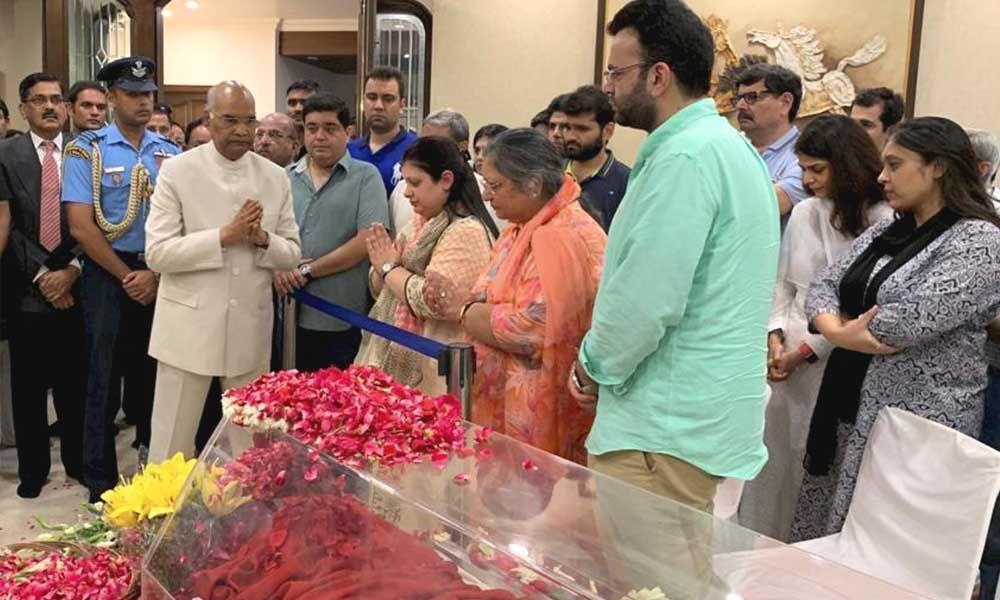 Arun Jaitley passes away; condolences pour in