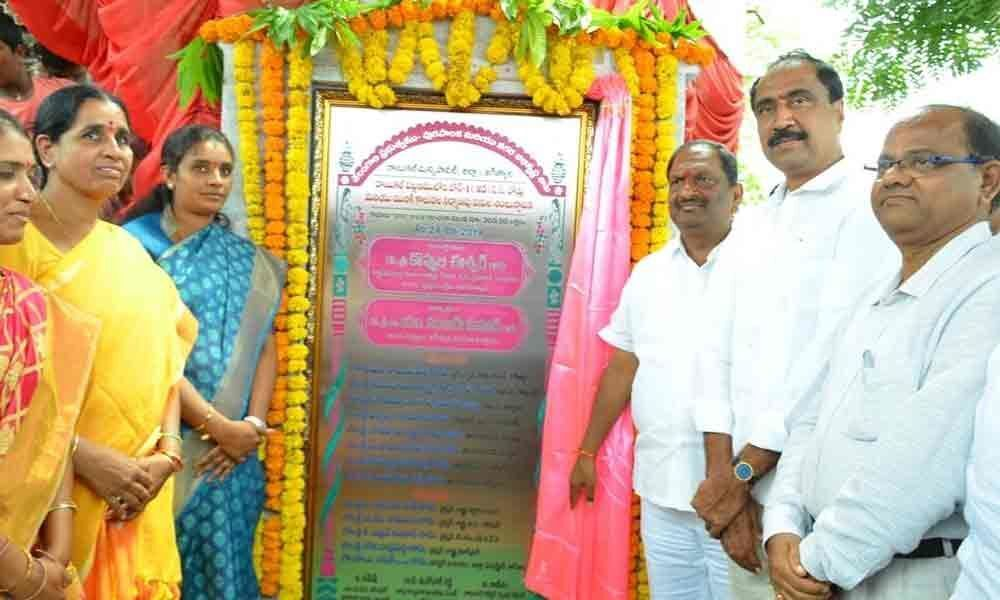 Minister Koppula highlights achievements of TRS government