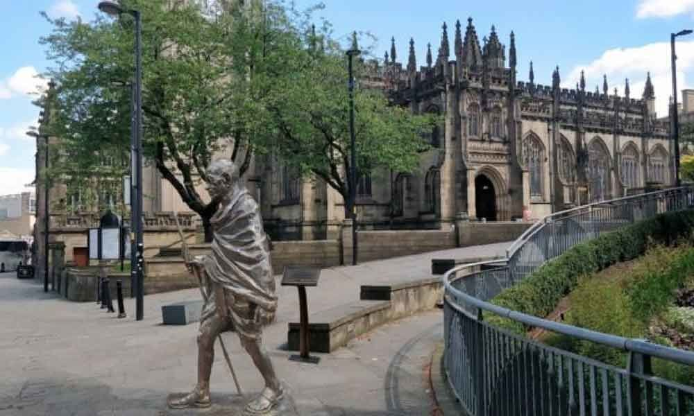 New Gandhi statue to be installed in UK city of Manchester