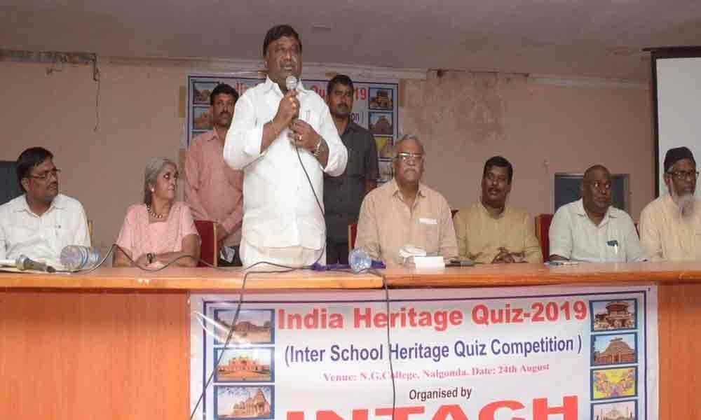 120 students participate in quize contest on history & art