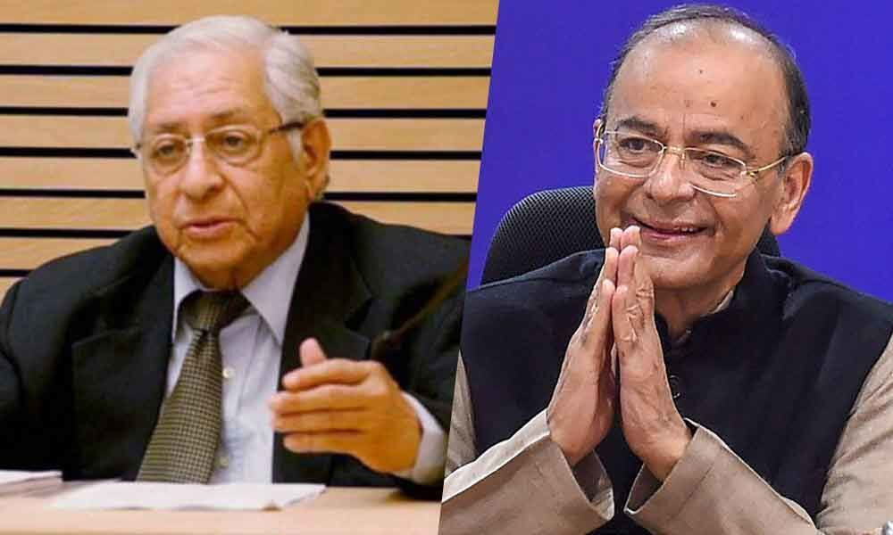 Sorabjee remembers Jaitley as accessible lawyer, Minister