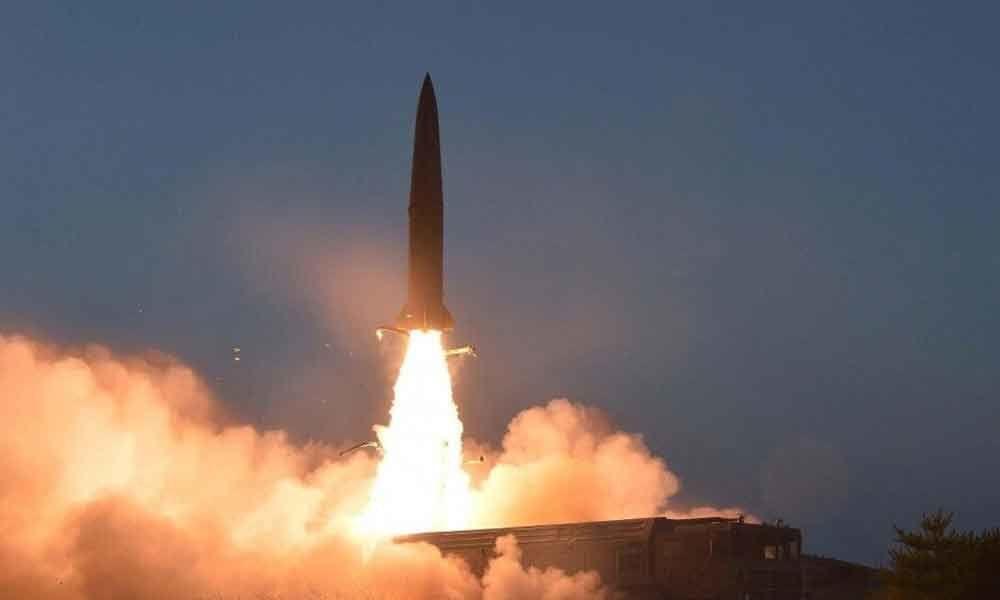 North Korea tests new multiple rocket launcher