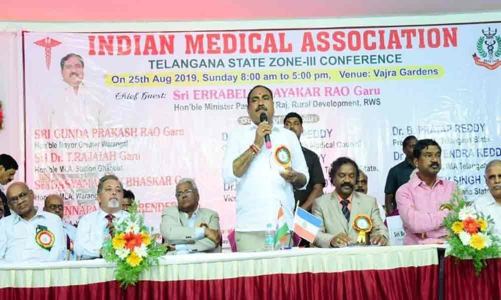 Healthcare to go a notch up: Minister