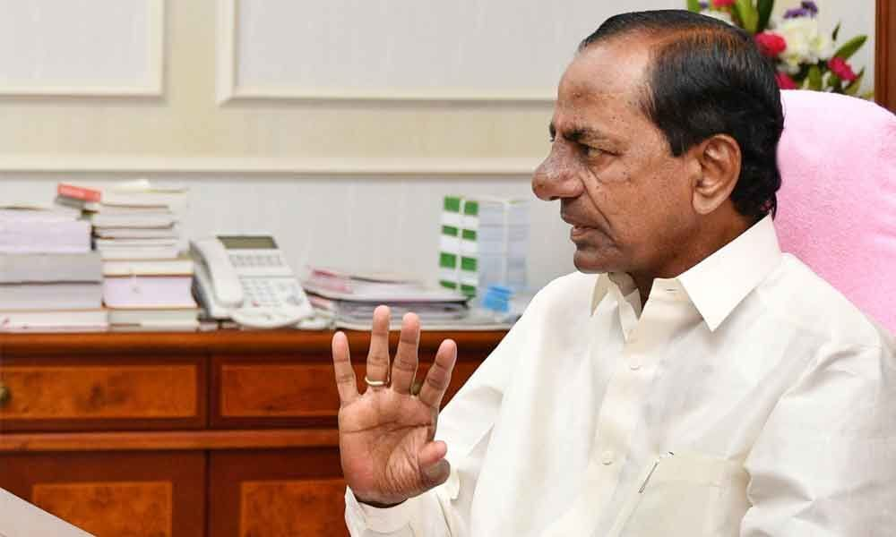 Selective leaks to the Media  : Unhappy KCR warns Ministers, leaders