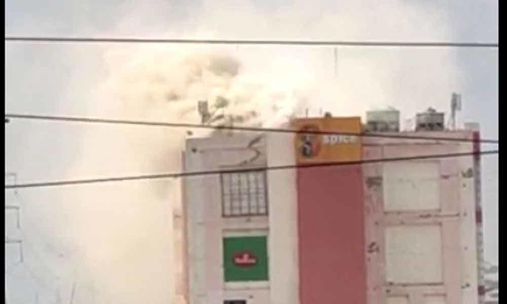 Major fire in Spice Mall in Noida, no casualties