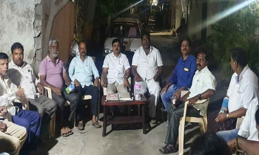 Colony welfare association to fight over issues