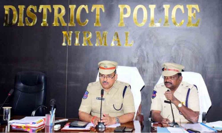 Nirmal: SP stresses on use of technology in investigations