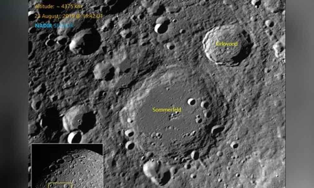 ISRO releases fresh set of photos of moon craters