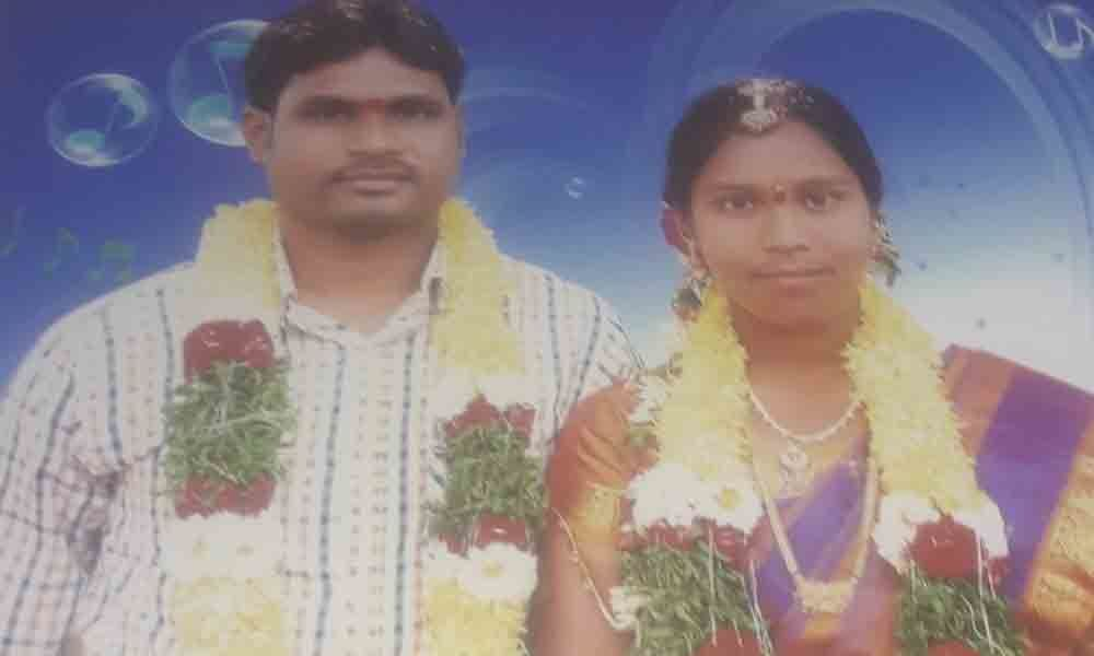 Nalgonda: Burdened by financial issues, couple end life on rail tracks