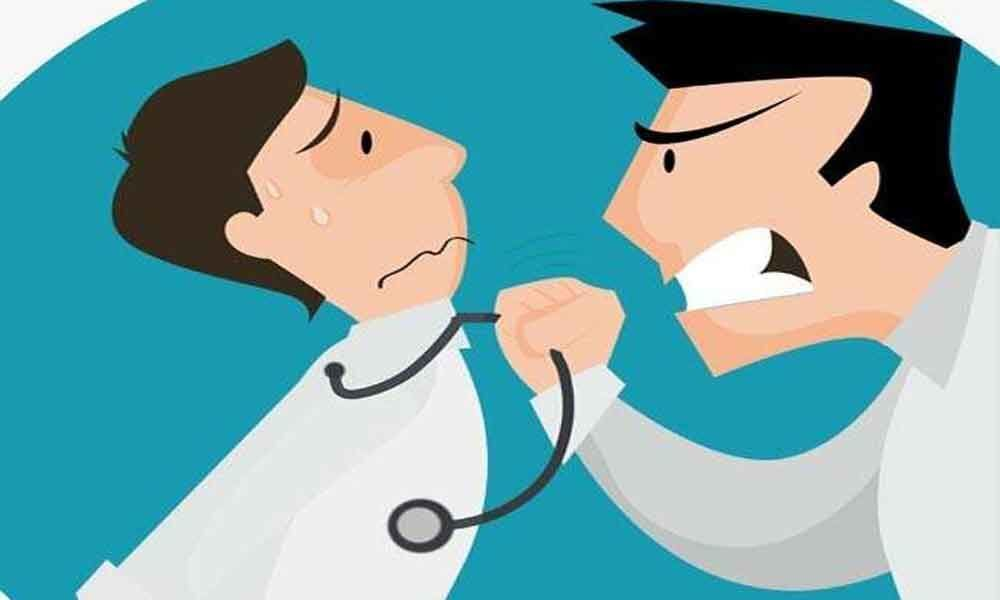 Yet another case of assault on doctor