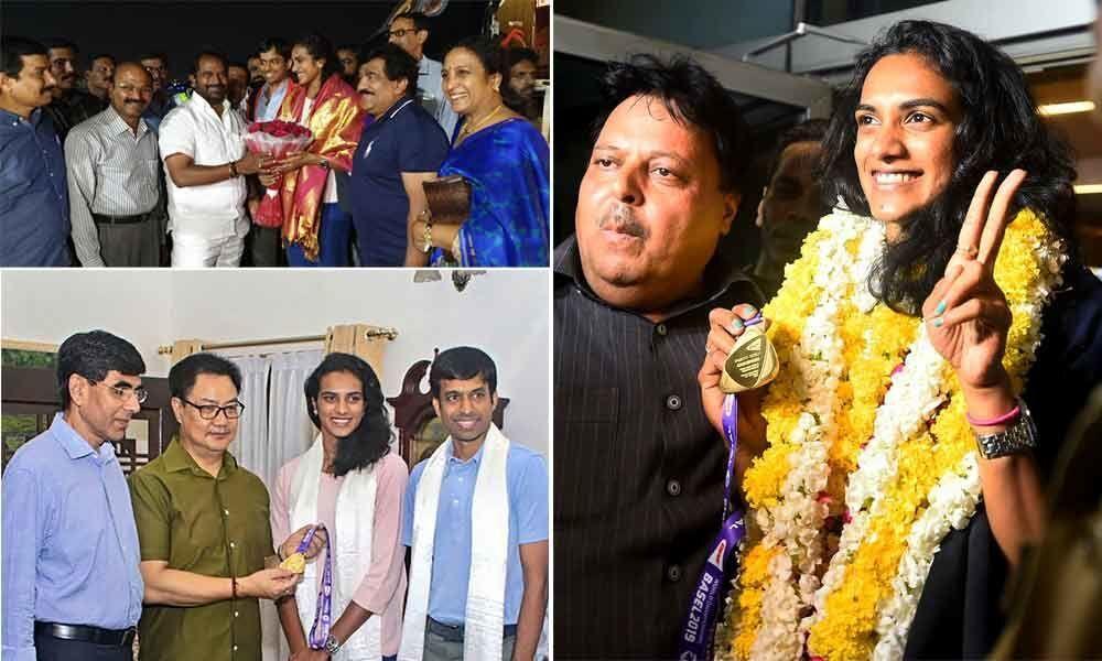 World champ Sindhu returns to hero