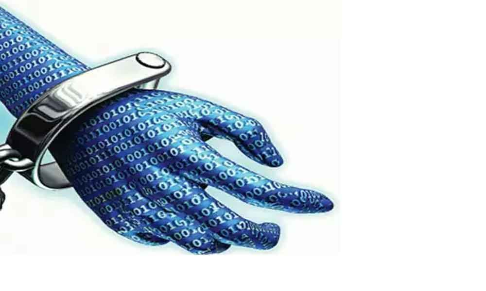 4 cyber fraudsters held for cheating bank officials