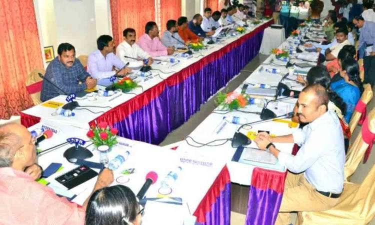 Hanamkonda: Collectors meet in Warangal