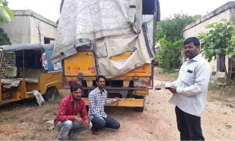 Nizamabad: Convert ration rice to broken rice