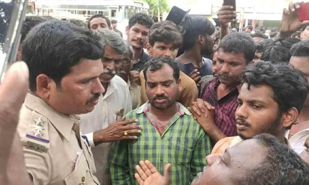 Suicide of minor boy creates tension in Aswaraopet town