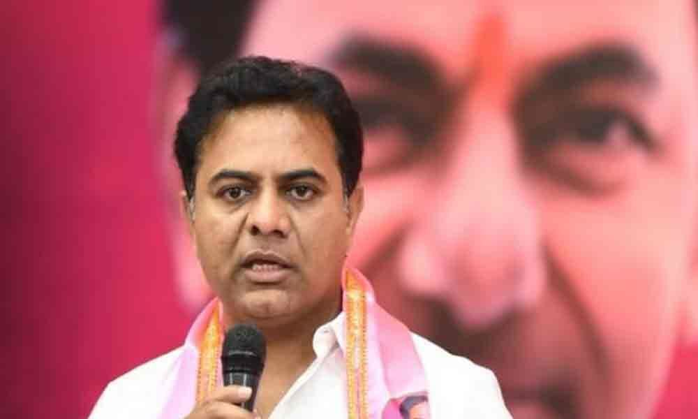 KTR asks party cadre to brace up for civic polls