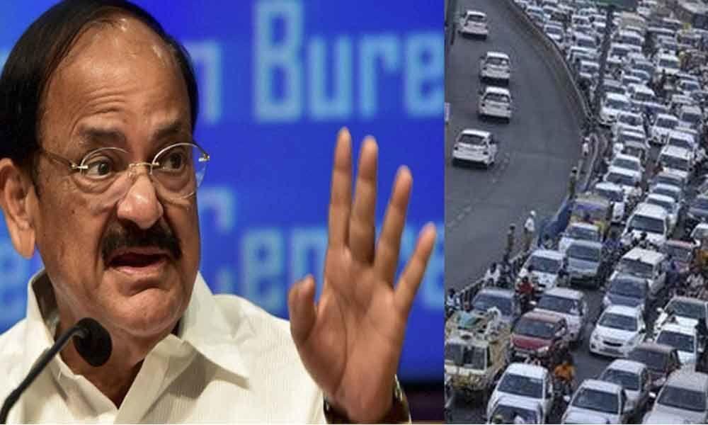 Traffic curbs in Hyderabad for Vice-President Venkaiah Naidus visit