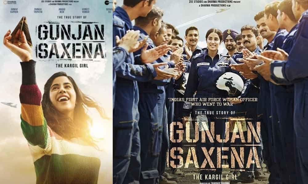 Gunjan Saxena - The untold story- The Kargil Girl First Look out: Janhvi Kapoor Gets Her Wings