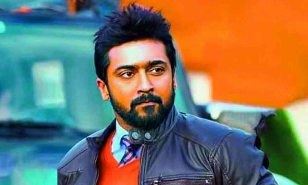 Suriya plays NSG commando