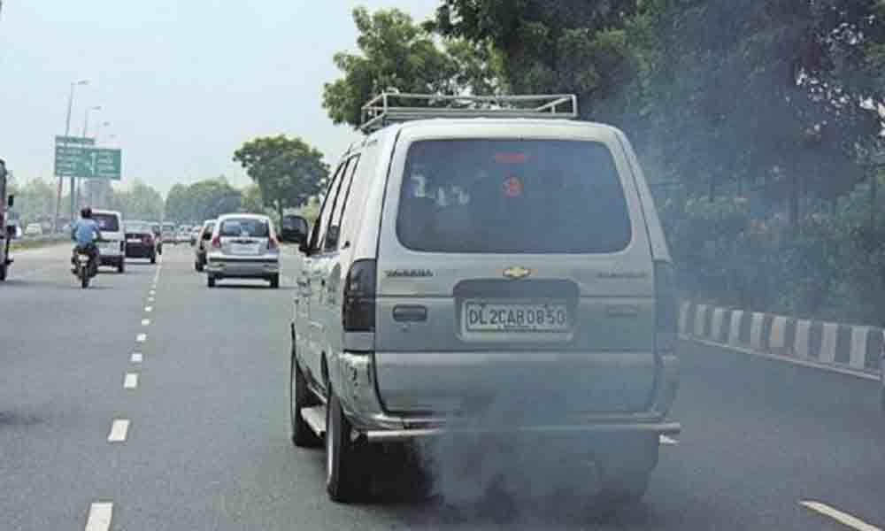 Hyderabad: Diesel vehicles raise air pollution