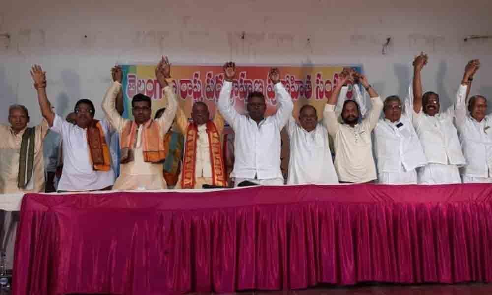 Himayatnagar: Padmashalis demand political, financial powers